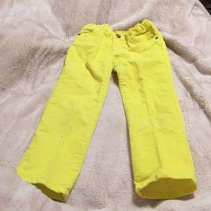 Carters yellow corduroy pants 5